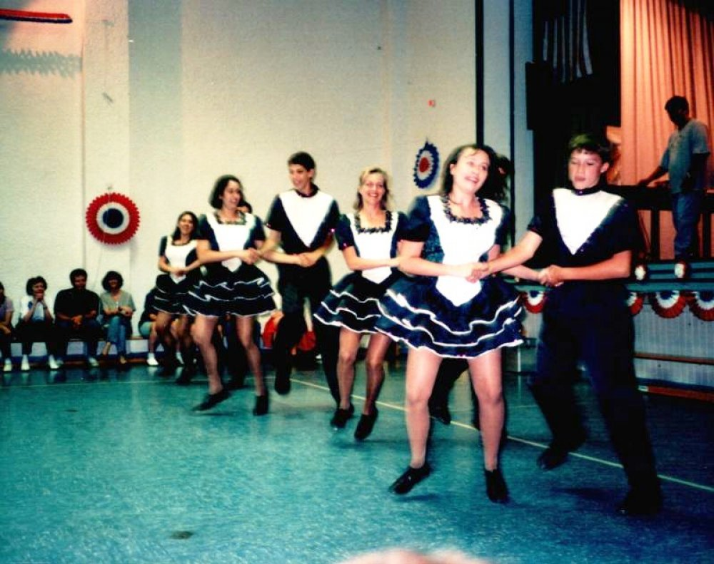 1998, 2. Crazy Clogging Festival, The Rise & Shine Cloggers
